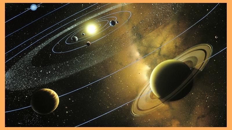 El sistema solar y sus planetas