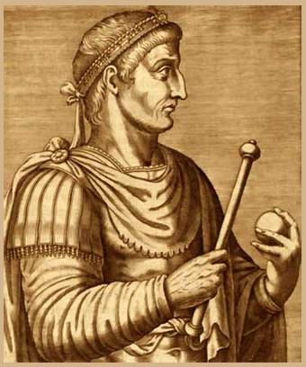 Constantino emperador de los romanos - Imagen