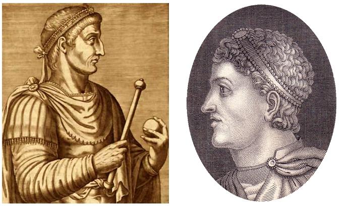 Constantino y Teodosio - Imagen