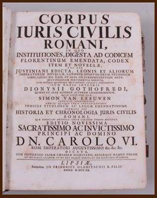 El Derecho Romano - Imagen