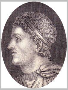 Teodosio emperador romano - Imagen
