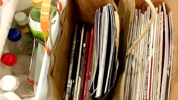 Artículos reciclables - Imagen
