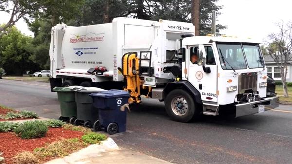 Camión recolector de basura - Imagen