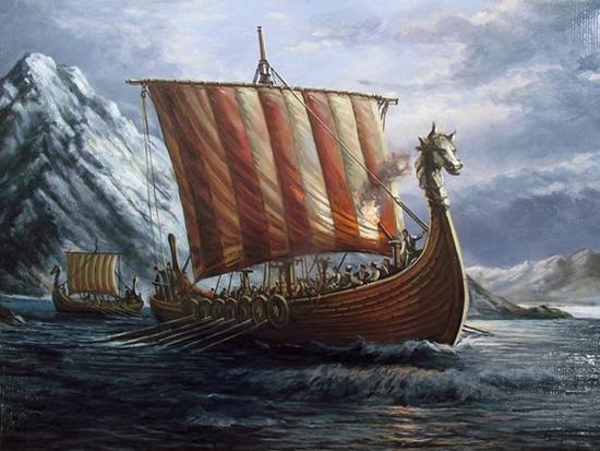 Conquistadores vikingos - Imagen