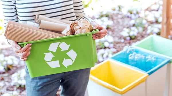 Reciclaje En Casa - Imagen