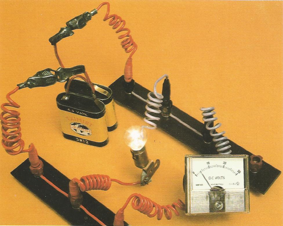 Medida de la tensión el voltímetro - Imagen