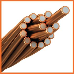 Acero revestido de cobre - Imagen