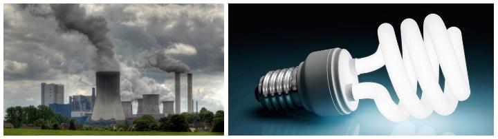 Contaminación del aire por energía eléctrica - Imagen